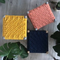 Are you interested in our up cycled woven stool? With our Felted Merino Wool Woven Stool you need look no further.