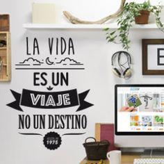 Vinilos decorativos con frases célebres. (2) - StickerSports, La Tienda de Vinilos Deportivos Online