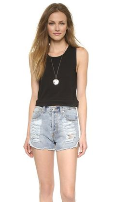 Madewell Banded Crop Tank