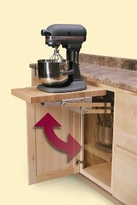 Pop Out Storage For Your Stand Mixer Wouldn T This Be