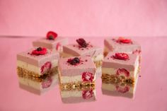 The Hardihood - Raw Berry Cheesecake. Sugar-free, Gluten-free, Dairy-free.