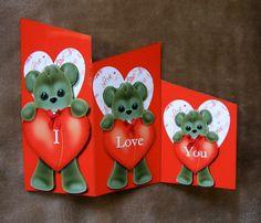 Handmade Valentine's card by mandishella