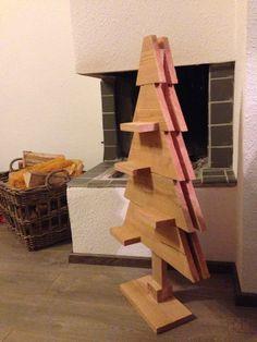Douglas houten kerstboom 3D. Te koop bij BuBlo op fb