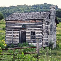 Photo Tagged by @theraysredroof. An abandoned cabin in the Appalachians. Hawkins County Tennessee.