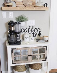 Coffee bar sign, metal coffee bar sign, rustic word art sign, house gift idea, coffee lovers decoration - This coffee bar sign is a perfect addition to your family home! This coffee bar sign makes 16 gauge - Coffee Area, Coffee Nook, Coffee Bar Home, Home Coffee Stations, Coffee Corner, Coffe Bar, Coffee Bar Ideas, Beverage Stations, Coffee Station Kitchen