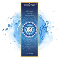 Vishuddha Throat Fifth Chakra Incense Sticks available at Best Selling price with 20% Off from Online Shopping Store  Vedicvaani.com, Hurry Shop Now Incense Cones, Incense Sticks, Postcard Template, Effective Communication, Throat Chakra, Tantra, Chakra Healing, Spiritual Awakening, Third Eye