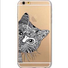 iPhone 5 C flexible clear case. Cat 5C Accessories Phone Cases