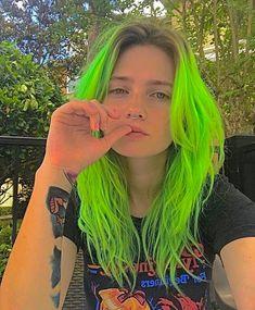Hair Inspo, Hair Inspiration, Estilo Indie, Alternative Makeup, Indie Hair, Dye My Hair, Aesthetic Hair, Grunge Hair, Green Hair