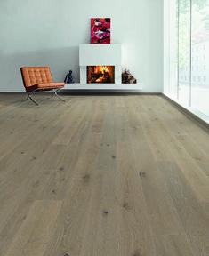 chêne MULTIPLY RUSTIQUE huilé GRIS LIN - 145x14.2x1820x3mm de vrai bois
