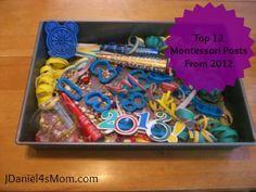 12 Montessorri Learning Activities for Kids