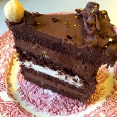 as minca o felie de tort diplomat zice petruta dinu Crazy Cakes, Fudge Cake, Brownie Cake, Sweet Recipes, Cake Recipes, Dessert Recipes, Beste Brownies, Romanian Desserts, Custard Cake