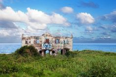 Abandoned Beach House On North Coast Of Durban, South Africa Royalty ...