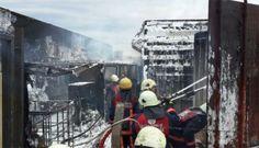 #haber #haberler #tıryangını #yangın #bahçelievler #yenibosna Tır Yangınında Korkulu Anlar