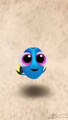 """"""" Baby Dory is eyes and cuteness! Disney Phone Wallpaper, Cartoon Wallpaper Iphone, Cute Cartoon Wallpapers, Disney Babys, Baby Disney, Disney Art, Cute Disney Characters, Disney Background, Disney Aesthetic"""