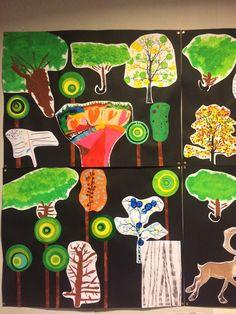 La forêt de René le renne chez Céline M Celine, Respect, Drill Bit, Landscapes, Projects
