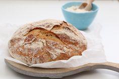 Eltefritt italiensk landbrød - Trines matblogg
