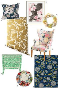 I admit it. I've been in my own personal heaven for the past several seasons. Florals have been everywhere and I love it! Trust me, these are not your grandmothers florals. Current floral patterns are fresh and bold and make for exciting accents to any space. It's true, you don't have to be super girly [...]