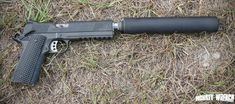 Springfield Armory .45 TRP Full Rail Operator + AAC Ti-RANT 45 suppressor