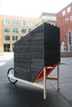 "The Kruiscope ""wheelbarrow cinema""   Stijn Vossen   Bustler"