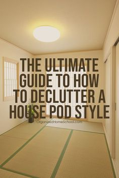 Having trouble on decluttering your home because you don't know where to start? Well, worry no more! For here's our ultimate guide on how to declutter your house with ease! Read on! Study Desk Organization, Bathroom Cabinet Organization, Under Sink Organization, Garage Organization, Organization Ideas, Garage Systems, Minimalist Bedroom Small, Home Management, Declutter Your Home