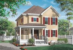W3700 - Large, 2 Storey, 3 Bedroom With Fireplace And Wrap Around Porch