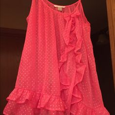 Pink Babydoll Beautiful pink Victoria's Secret Babydoll. Size small. Perfect for Valentine's Day! Classy bow on right breast. Full of silver sparkles! In excellent condition. Victoria's Secret Intimates & Sleepwear Chemises & Slips