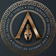 Discover recipes, home ideas, style inspiration and other ideas to try. Tatouage Assassins Creed, Arte Assassins Creed, Assassins Creed Tattoo, Assassins Creed Odyssey, Spartan Logo, Spartan Tattoo, Spartan Helmet, Spartan Warrior, Spartan Shield