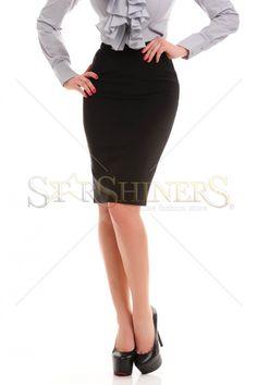 PrettyGirl Mellowly Black Skirt
