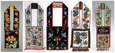 Bandolier Bags originated among the Ojibwe, Menominee, Potawatomi, and Ho-Chunk in the Upper Great Lakes Region of the US and Canada.  It's a shoulder bag elaborately decorated with glass seed beads, thought to have originated around the 1840's or 1850's. Few were made after the 1940's