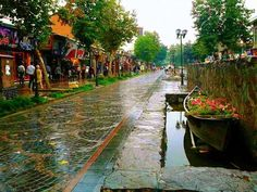 Rasht, the rainy city