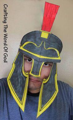 Jesus Heals Centurion's servant - Helmet Of Salvation, free template