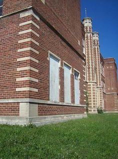 Kirksville High. Built in 1918.