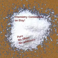 Sodium Lauryl Sulfoacetate Powder by @ChemistryConx Etsy, $59.95 #slsa #soap #skincare