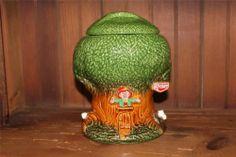 Vintage McCoy Cookie Jar Keebler Elves Tree House 1981 350 Great Condition | eBay