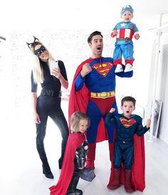 Todays regram goes to one of the coolest #family in Norway Pic by @iamdaddychris & @monica.nyhus Costumes by @funidelia - - - - - - - - - - - - - - - Una de las familias más molonas a las que hemos disfrazado . . . . #superman #catwoman #captainamerica #thor #dad #fun #funidelia #superheroes #mum #parents #parentslove #marvel #familia #familiafeliz #disfraz #disfraces #kostum #kostueme Kostüm