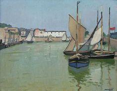albert marquet | Les lieux qui ont inspiré les peintres – 7 : L'école de Honfleur ...
