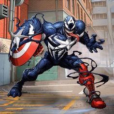Originally I had to take down my posts, at the request of Marvel, I posted them a bit too early. Venom Comics, Marvel Venom, Marvel Comics Art, Marvel Heroes, Marvel Characters, Groot Comics, Venom Avengers, Captain Marvel
