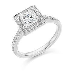 Princess cut engagement ring. #weddingring #engagementrings #loveit #diamond #rings #are #beautiful #gold #engaged #engagement #jewellery #engagementring #antique #ido #wedding #weddinginspiration #bride #t4l #tagsforlikes #vsco #vscocam #tags4like #follow #followme #likeme
