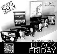 """Seien Sie bei unserem großen """"Black Friday Sale"""". NUR HEUTE GÜLTIG - Jetzt im Shop bestellen: http://shop.managementtraining.de/grosses-black-friday-bundle"""