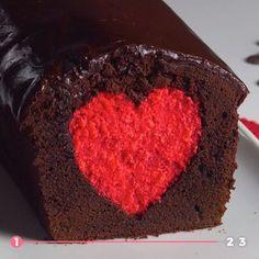 Day baking To fall in love! Cake ideas for Valentines Day- Zum Verlieben! Kuchen-Ideen zum Valentinstag To fall in love! Cake ideas for Valentines Day. Easy Cake Recipes, Cookie Recipes, Dessert Recipes, Baking Desserts, Baking Recipes, Dessert Parfait, Food Cakes, Fall Desserts, Love Cake