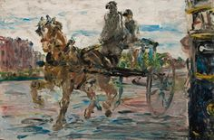 """Jack Butler Yeats, """"The Learner"""" 1929 Sotheby's Oct 21 2015"""