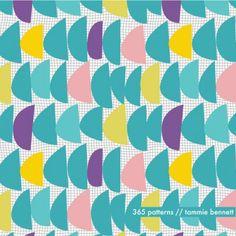 scales :: #365patterns :: tammie bennett's art + surface design blog