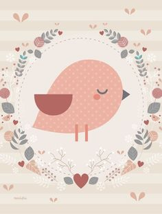 Graphic Art Prints, Art Prints Quotes, Image Deco, Baby Posters, Floral Print Design, Art Corner, Animal Sketches, Illustrations And Posters, Cute Illustration