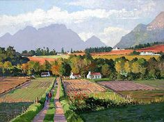 Landscape Art, Landscape Paintings, Landscapes, Mini Paintings, Painting Tips, African Art, Faeries, Holland, Roads