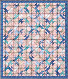 Dream - Free Quilt Pattern - Using Charm Packs or Layer Cake