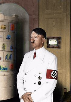 Hitler 1940s Colourised by Pearse.