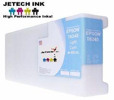 Epson UltraChrome GS Compatible 950ml Single Cartridge (T624500) - Light Cyan #JeTechInk