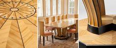 Eliel Saarinen Saarisen kodin ruokapöytä
