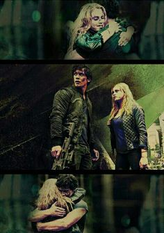 Bellamy Blake and Clarke Griffin || The 100 season 2 episode 5 - Human Trials || Eliza Jane Taylor and Bob Morley || Bellarke