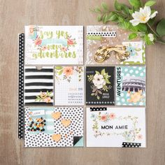 If you like Project Life by Stampin' Up! (PLxSU), you're going to LOVE the new Hello Lovely card collection and the coordinating embellishment pack! #stampinup